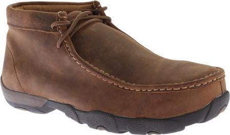 Men's Twisted X MDMSM01 Driving Moc Work Shoe, Peanut, large, image 1