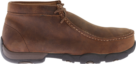 Men's Twisted X MDMSM01 Driving Moc Work Shoe, Peanut, large, image 2