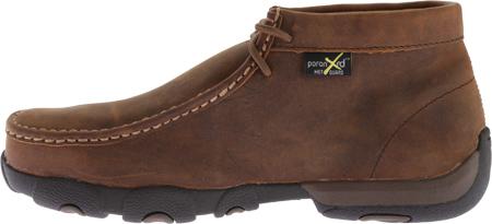 Men's Twisted X MDMSM01 Driving Moc Work Shoe, Peanut, large, image 3