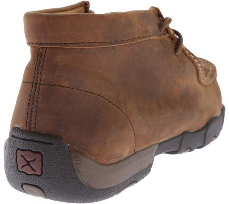 Men's Twisted X MDMSM01 Driving Moc Work Shoe, Peanut, large, image 4