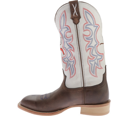 Men's Twisted X MHY0011 Hooey, Brown/White, large, image 3