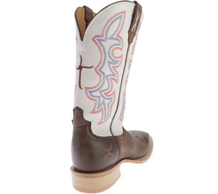 Men's Twisted X MHY0011 Hooey, Brown/White, large, image 4