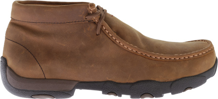 Men's Twisted X MDMW001 Driving Moc, Distressed Saddle, large, image 2