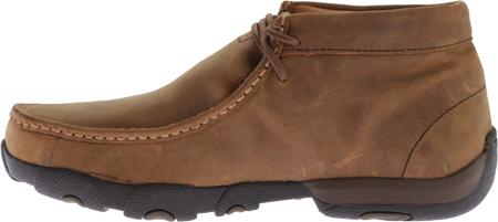 Men's Twisted X MDMW001 Driving Moc, Distressed Saddle, large, image 3