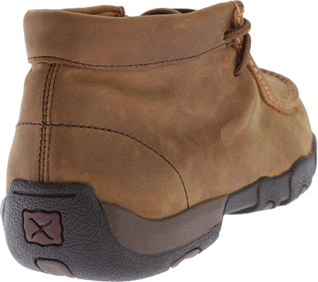 Men's Twisted X MDMW001 Driving Moc, Distressed Saddle, large, image 4