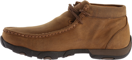 Women's Twisted X WDMW001 Waterproof Tall Driving Moc, Distressed Saddle Leather, large, image 3