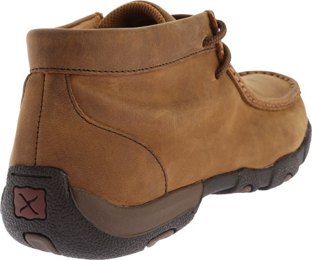 Women's Twisted X WDMW001 Waterproof Tall Driving Moc, Distressed Saddle Leather, large, image 4