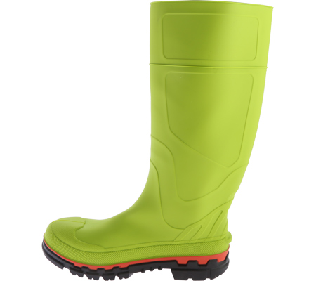 Men's Twisted X MWBS001 Steel Toe Mud Boot, Lime Green Rubber, large, image 3