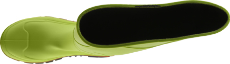 Men's Twisted X MWBS001 Steel Toe Mud Boot, Lime Green Rubber, large, image 5