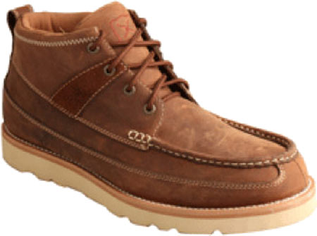 Men's Twisted X MCAS001 Steel Toe Boot, Oiled Saddle Leather, large, image 1