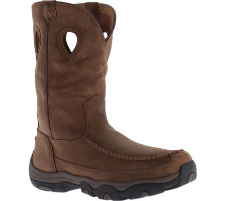 Men's Twisted X MHKB002 Hiker Boot, Distressed Saddle/Saddle Leather, large, image 1