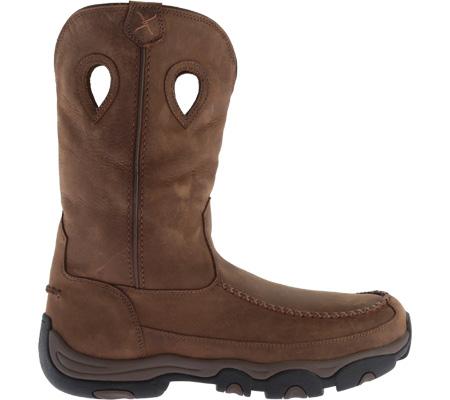 Men's Twisted X MHKB002 Hiker Boot, Distressed Saddle/Saddle Leather, large, image 2
