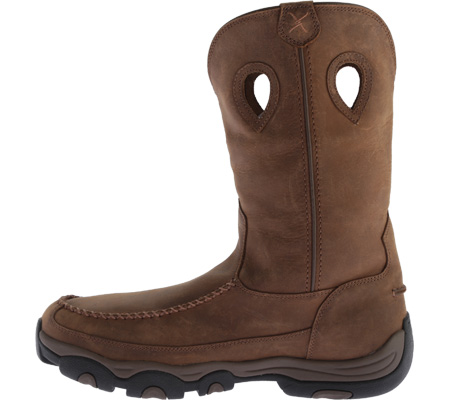 Men's Twisted X MHKB002 Hiker Boot, Distressed Saddle/Saddle Leather, large, image 3