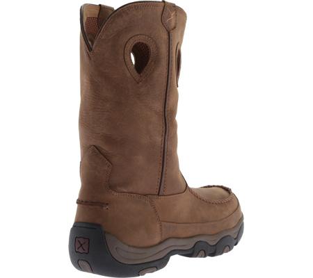 Men's Twisted X MHKB002 Hiker Boot, Distressed Saddle/Saddle Leather, large, image 4