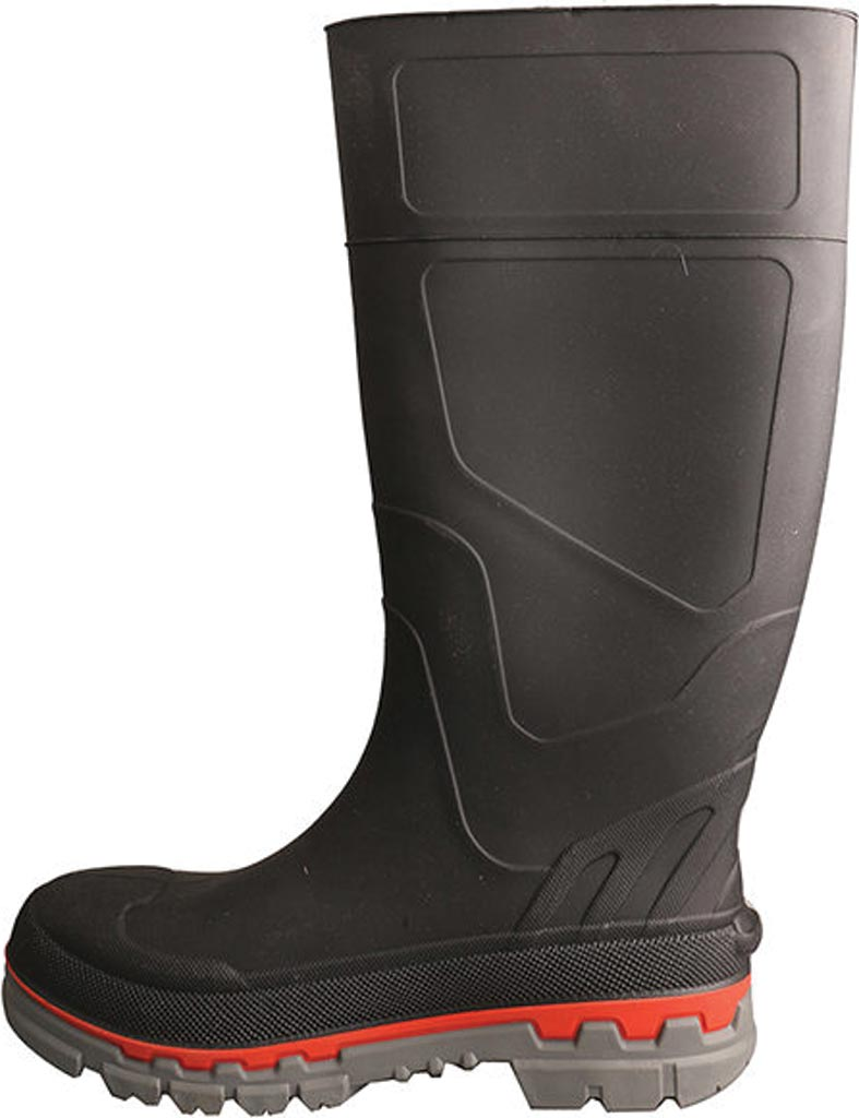 Men's Twisted X MWBS002 Mud Boot, Black Leather, large, image 3