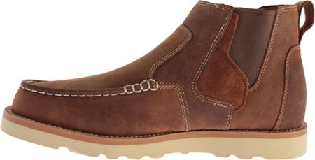 Men's Twisted X MCA0013 Casual Slip On, Oiled Saddle Leather, large, image 3