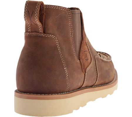 Men's Twisted X MCA0013 Casual Slip On, Oiled Saddle Leather, large, image 4