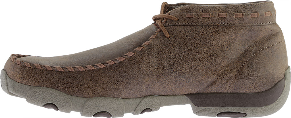 Men's Twisted X MDM0049 Driving Moc, Bomber/Taupe Leather, large, image 3