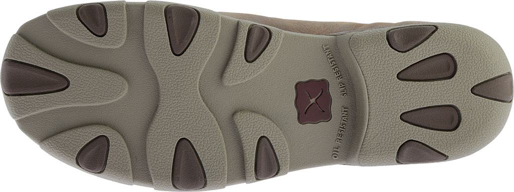 Men's Twisted X MDM0049 Driving Moc, Bomber/Taupe Leather, large, image 6