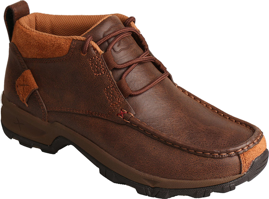 Women's Twisted X WHK0001 Hiking Shoe, Brown Leather, large, image 1