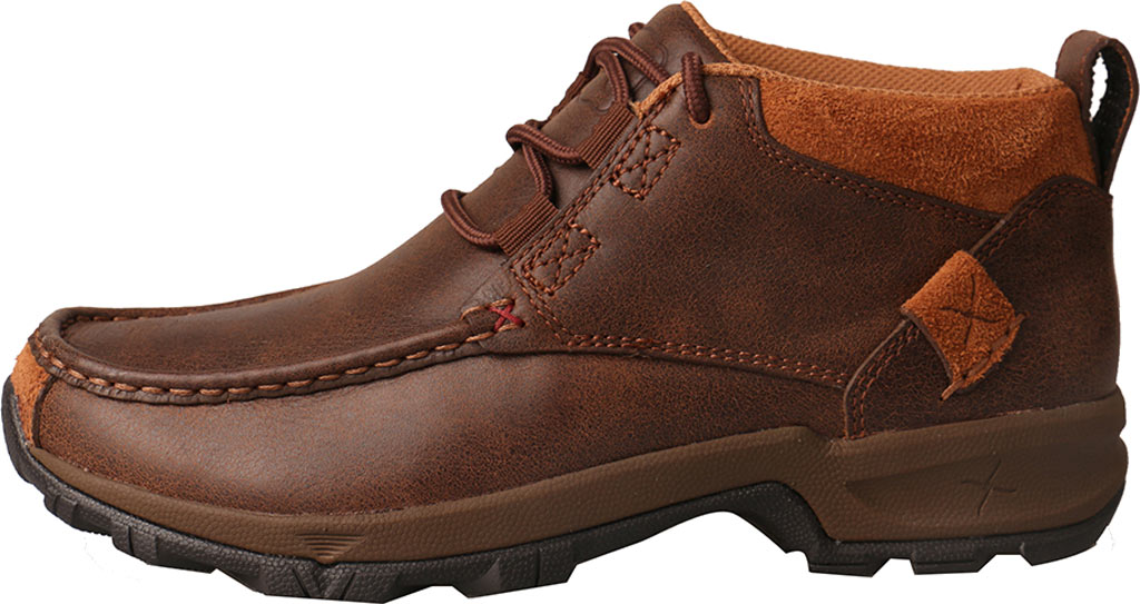 Women's Twisted X WHK0001 Hiking Shoe, Brown Leather, large, image 2