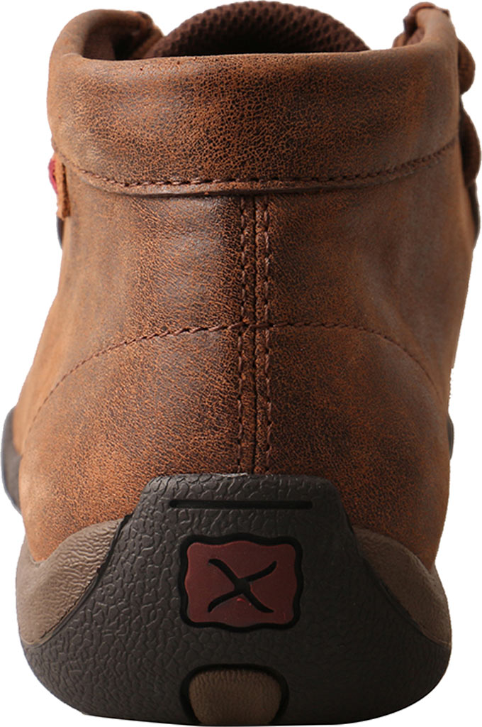 Women's Twisted X WDM0081 Driving Moc Chukka Boot, Brown/Tooled Flowers Leather, large, image 5