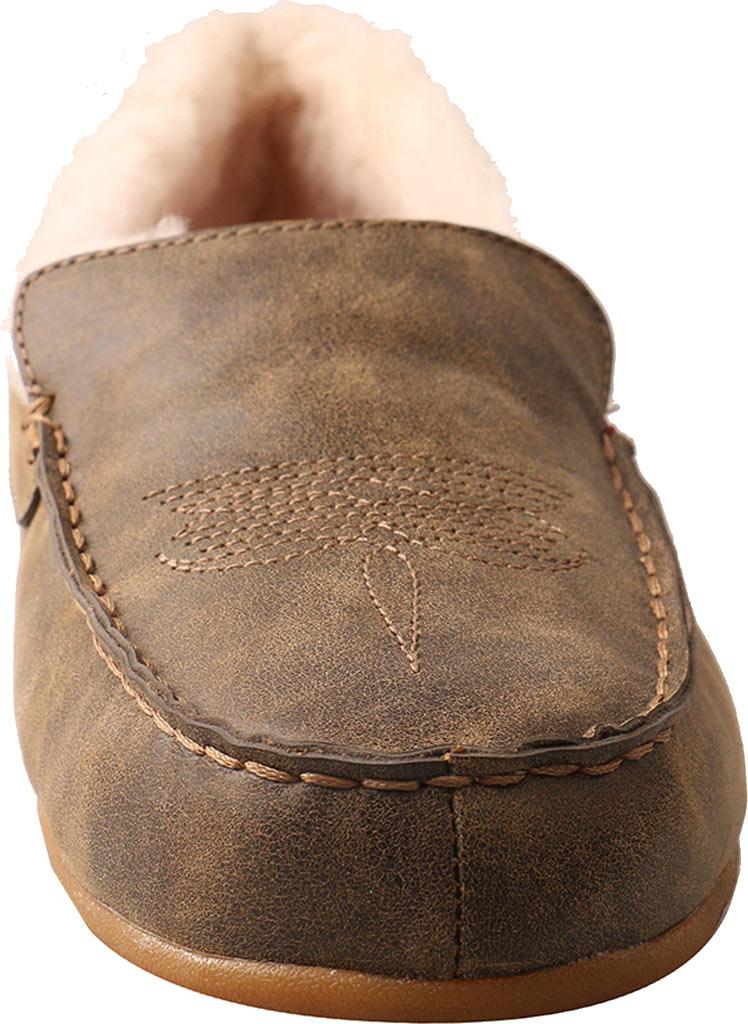 Men's Twisted X MSR0001 Moccasin Slipper, Bomber Leather, large, image 4