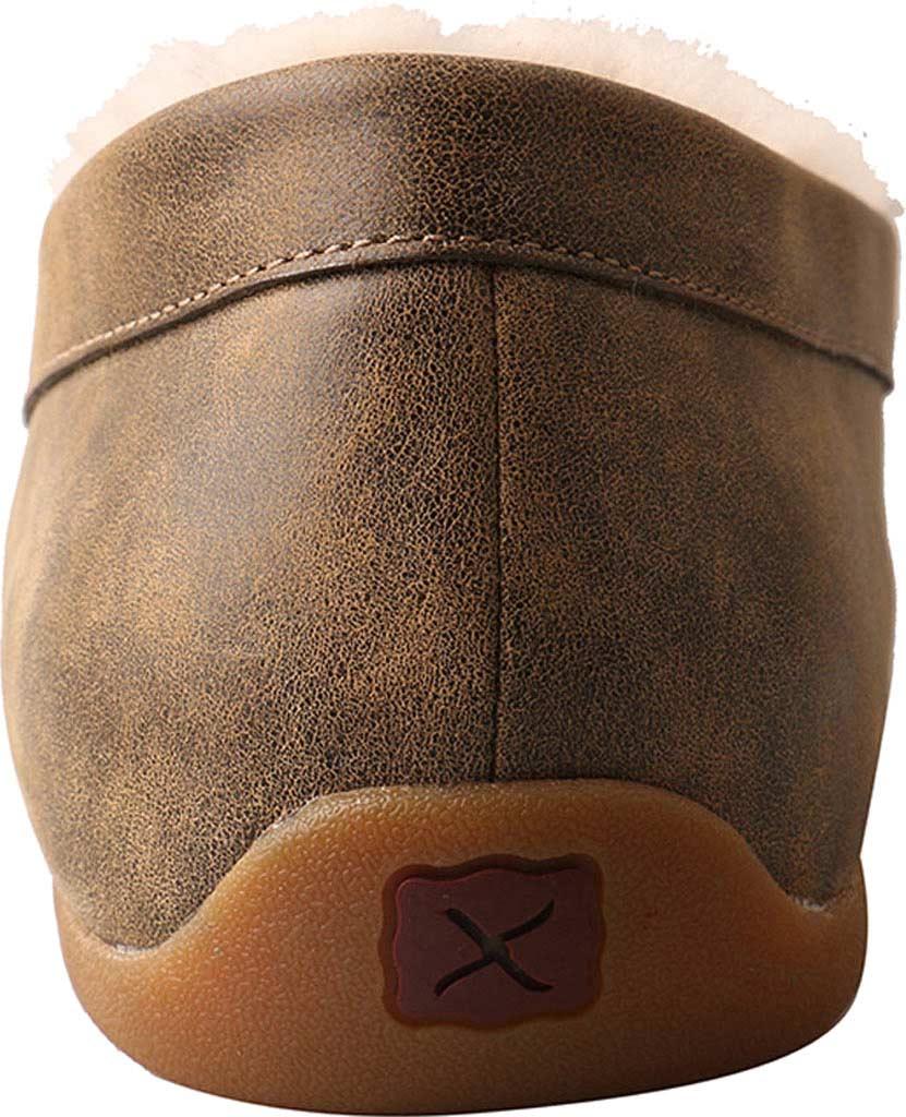 Men's Twisted X MSR0001 Moccasin Slipper, Bomber Leather, large, image 5