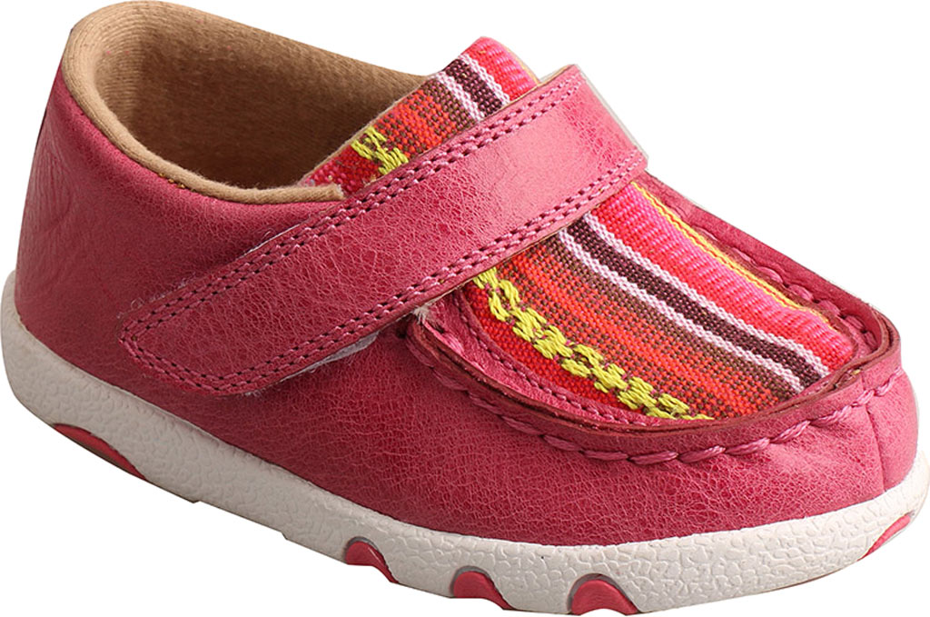 Infant Twisted X ICA0003 Casual Sneaker, Pink/Multi Leather/Canvas, large, image 1