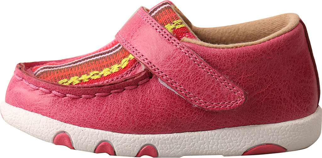 Infant Twisted X ICA0003 Casual Sneaker, Pink/Multi Leather/Canvas, large, image 3