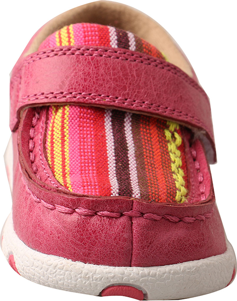 Infant Twisted X ICA0003 Casual Sneaker, Pink/Multi Leather/Canvas, large, image 4