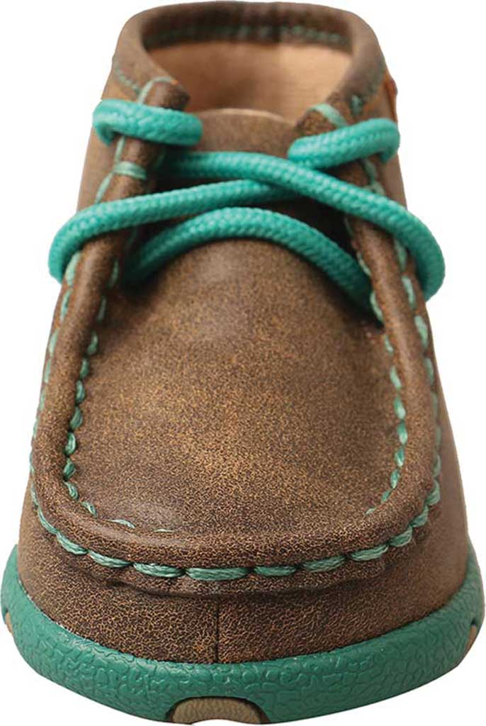 Infant Twisted X ICA0008 Driving Moccasin, Bomber/Turquoise Leather, large, image 4