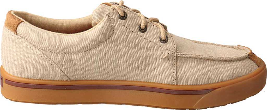 Men's Twisted X MHYC011 Hooey Lopers Oxford, Tan Canvas, large, image 2