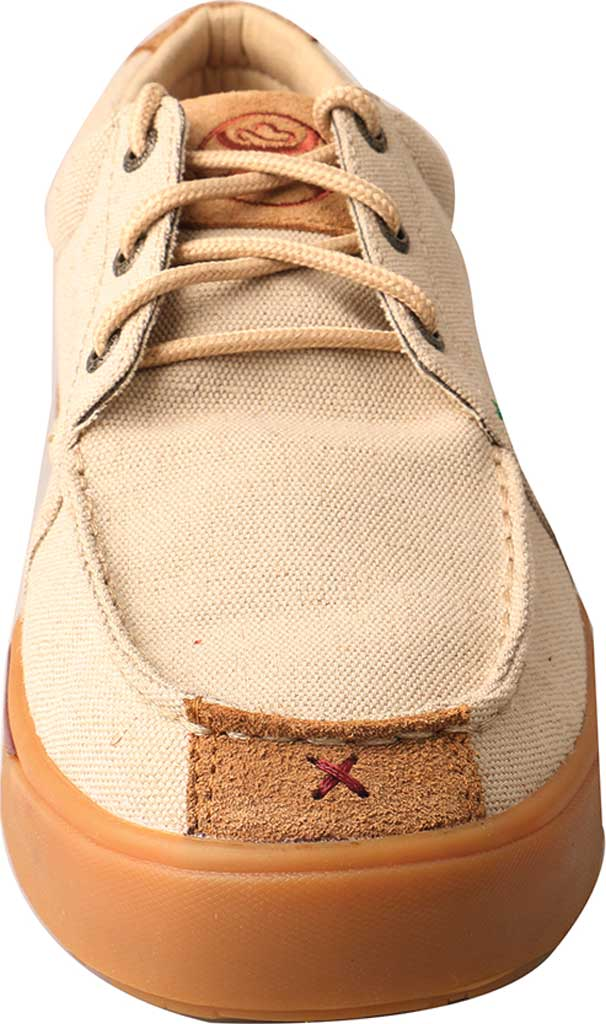 Men's Twisted X MHYC011 Hooey Lopers Oxford, Tan Canvas, large, image 4