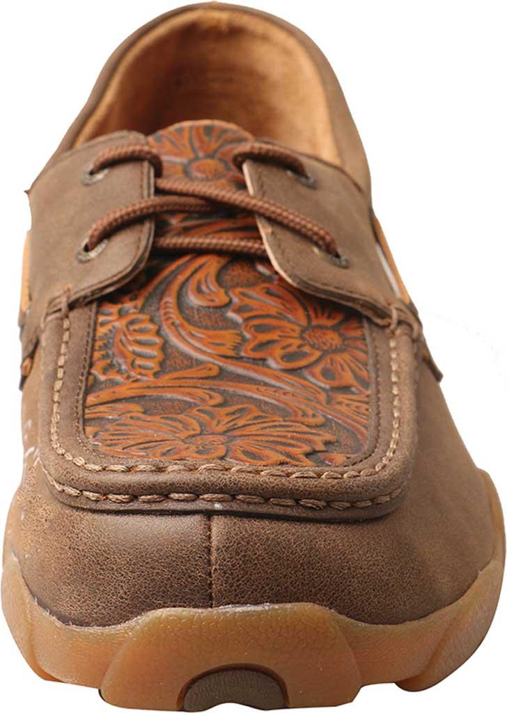 Men's Twisted X MDM0066 Driving Moc, Tan Tooled/Tawny Leather, large, image 4