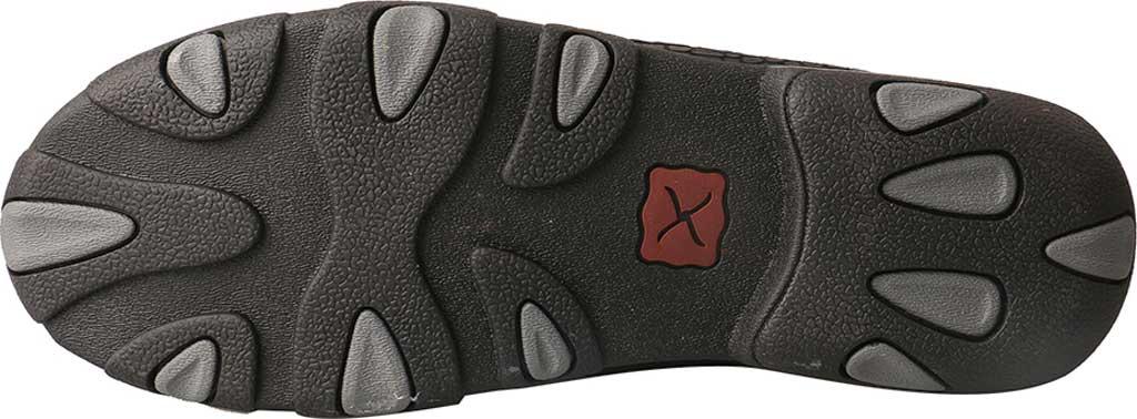 Women's Twisted X WDM0088 Driving Moc, Black Fish/Grey Leather, large, image 6