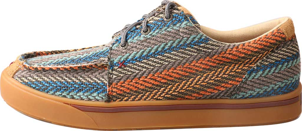 Men's Twisted X MHYC012 Hooey Moc, Multi Pattern Canvas, large, image 3
