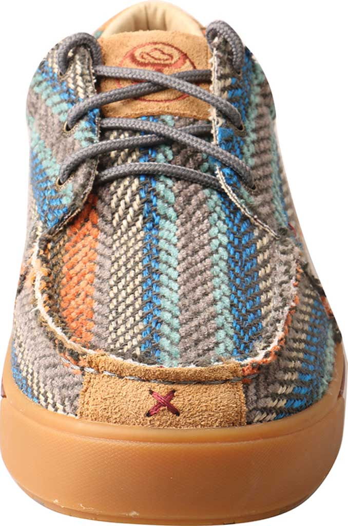 Men's Twisted X MHYC012 Hooey Moc, Multi Pattern Canvas, large, image 4