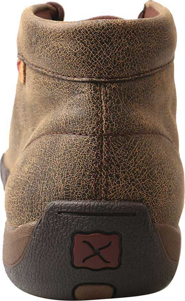 Men's Twisted X MDM0067 Driving Moc, Cayman Print/Brown Leather, large, image 5
