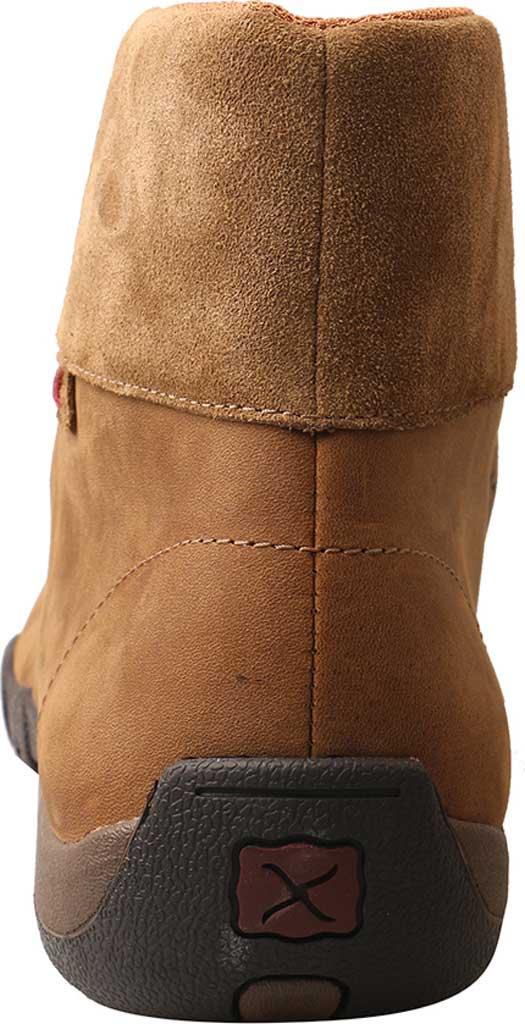 Men's Twisted X MDMAL01 Alloy Toe Driving Moc, Distressed Saddle Leather, large, image 5