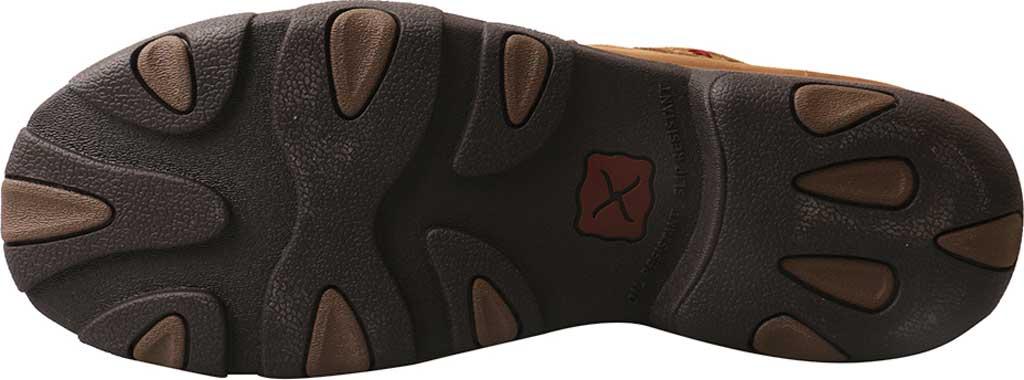 Men's Twisted X MDMAL01 Alloy Toe Driving Moc, Distressed Saddle Leather, large, image 6