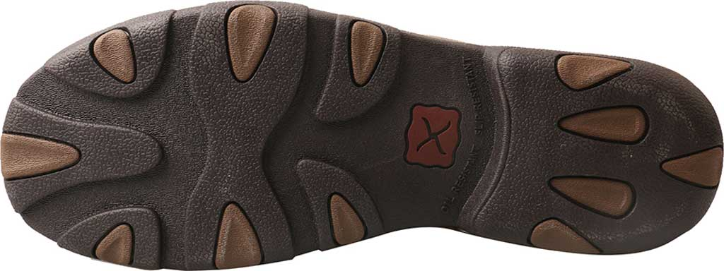 Men's Twisted X MDMAL02 Alloy Toe Driving Moc, Cayman Print/Brown Leather, large, image 6