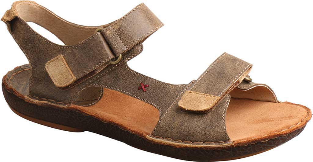 Men's Twisted X MLW0001 Leather Wrap Sandal, Bomber Leather, large, image 1