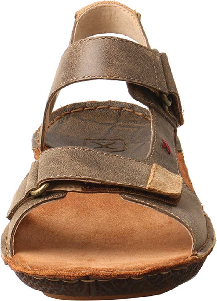 Men's Twisted X MLW0001 Leather Wrap Sandal, Bomber Leather, large, image 4