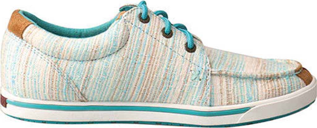 Women's Twisted X WHYC004 Hooey Lopers Sneaker, Blue/Multi Canvas, large, image 2