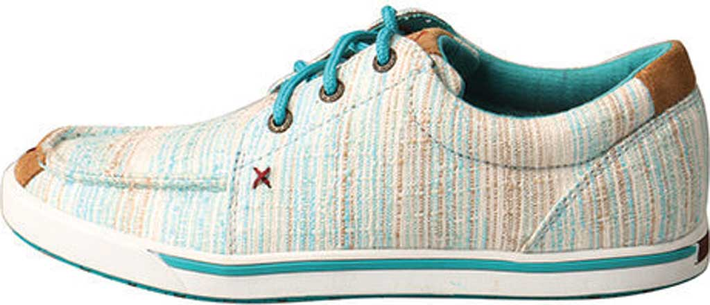 Women's Twisted X WHYC004 Hooey Lopers Sneaker, Blue/Multi Canvas, large, image 3