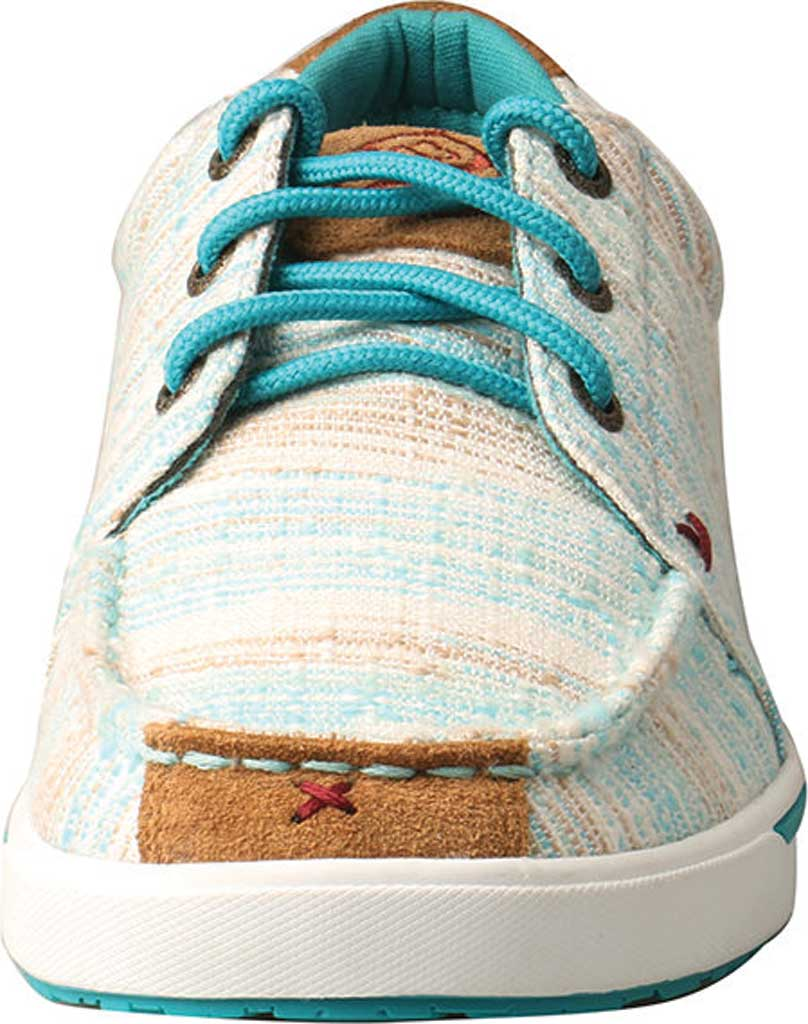 Women's Twisted X WHYC004 Hooey Lopers Sneaker, Blue/Multi Canvas, large, image 4