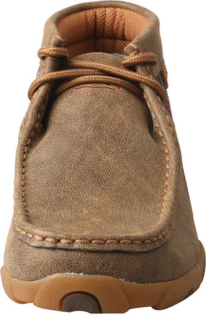 Women's Twisted X WDM0105 Driving Moc, Bomber/Multi Leather/Canvas, large, image 4