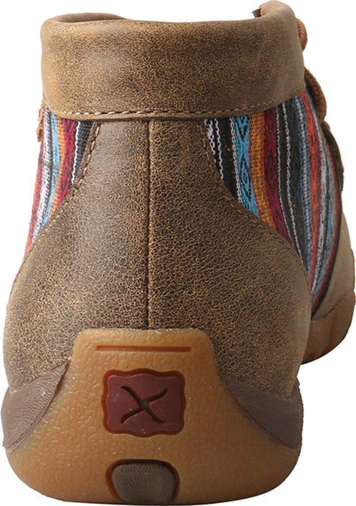 Women's Twisted X WDM0105 Driving Moc, Bomber/Multi Leather/Canvas, large, image 5
