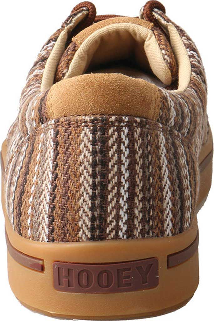 Men's Twisted X MHYC014 Hooey Lopers Moc Toe, Brown/Multi Canvas, large, image 5